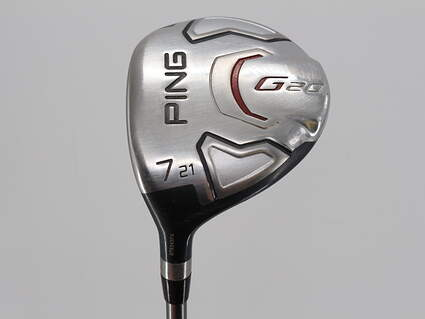 Ping G20 Fairway Wood 7 Wood 7W 21° Ping TFC 169F Graphite Senior Left Handed 41.75in