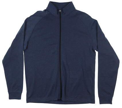 New Mens Dunning Stein Full Zip Fleece Jacket Large L Iron Heather MSRP $119 D7F19K946