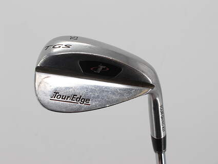 Tour Edge Triple Sole Grind Stainless Wedge Gap GW 52° Tour Grind Pure Feel Steel Steel Wedge Flex Right Handed 35.25in