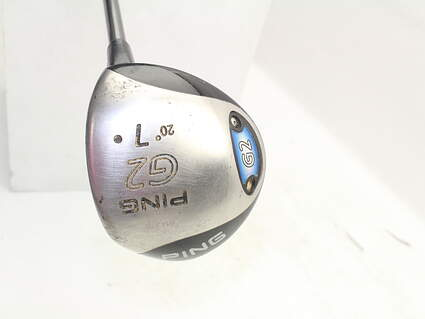 Ping G2 Fairway Wood 7 Wood 7W 20° Ping TFC 100F Graphite Stiff Right Handed 42.75in