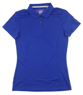 New Womens Puma Pounce Polo X-Small XS Surf The Web MSRP $50 570527 20