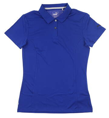 New Womens Puma Pounce Polo Small S Surf The Web MSRP $50 570527 20
