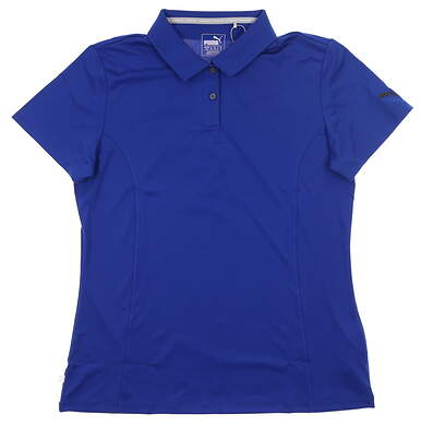 New Womens Puma Pounce Polo Large L Surf The Web MSRP $50 570527 20