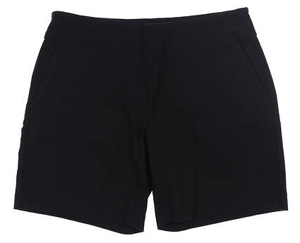 New Womens Footjoy Golf Shorts Large L Black MSRP $86 24099