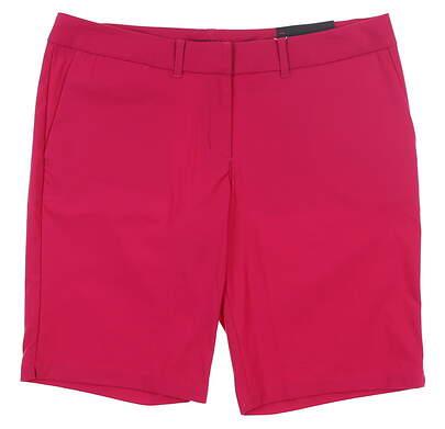New Womens Nike Golf Shorts 12 Magenta MSRP $75 747135
