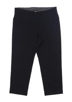 New Womens Footjoy Capri Leggings Medium M Black MSRP $80 27202