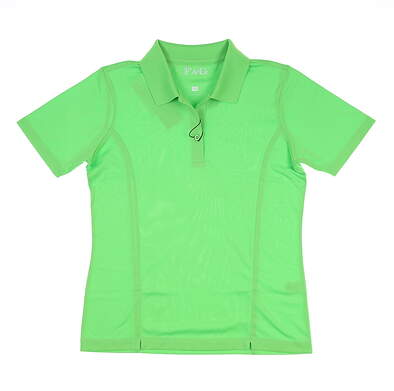 New Womens Fairway & Greene Golf Polo X-Small XS Green MSRP $98 D12010P