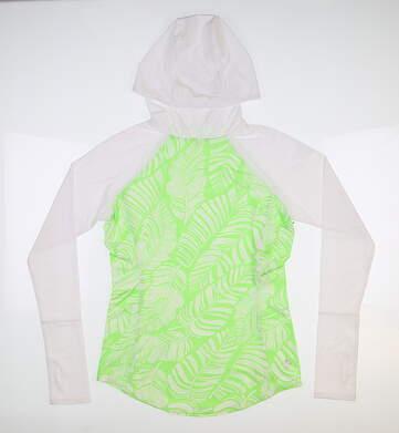New Womens Jo Fit Hooded Spectrum Shirt XX-Small XXS Multi MSRP $92 UT071-HYP