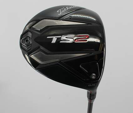 Mint Titleist TS2 Driver 8.5° PX HZRDUS Smoke Black 60 Graphite X-Stiff Right Handed 45.5in