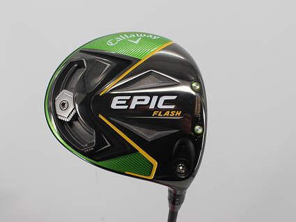 Mint Callaway EPIC Flash Driver 9° PX HZRDUS Smoke Black 60 Graphite Stiff Right Handed 45.5in
