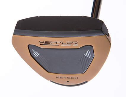 Ping Heppler Ketsch Putter Slight Arc Steel Right Handed Black Dot 35.0in Adjustable