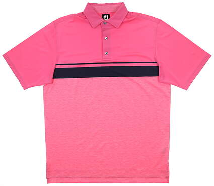 New Mens Footjoy Polo Large L Pink MSRP $75