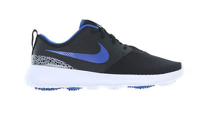 New Mens Golf Shoe Nike Roshe G Medium 8.5 Black/Blue MSRP $80 AA1837 005