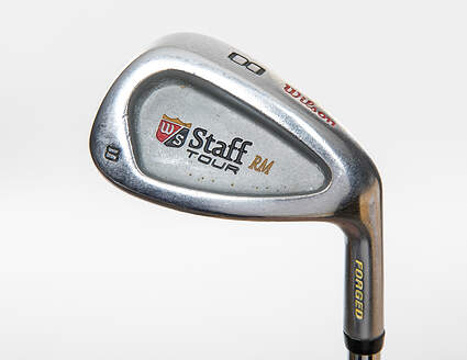 Wilson Staff Staff RM Tour Forged Single Iron 8 Iron Wilson Fat Shaft Steel Stiff Right Handed 36.5in