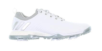 New Womens Golf Shoe Adidas Adipower Boost Medium 7 White MSRP $160 DA9740