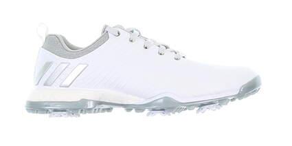 New Womens Golf Shoe Adidas Adipower Boost Medium 8 White MSRP $160 DA9740