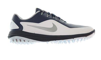New Mens Golf Shoe Nike Lunar Control Vapor 2 10 White/Blue MSRP $175 899633 400