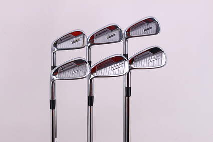 TaylorMade P760 Iron Set 5-PW Nippon NS Pro Modus 3 Tour 120 Steel X-Stiff Left Handed 37.75in