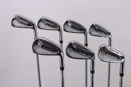 TaylorMade P770 Iron Set 4-PW Project X Pxi 5.5 Steel Stiff Right Handed 38.25in
