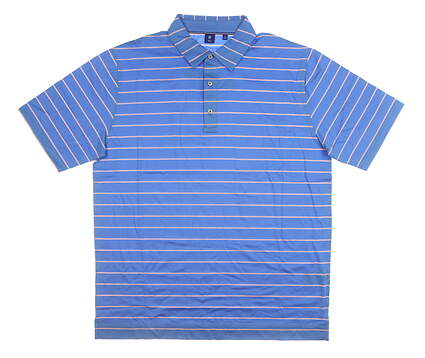 New Mens Footjoy 1857 Polo Large L Blue MSRP $135