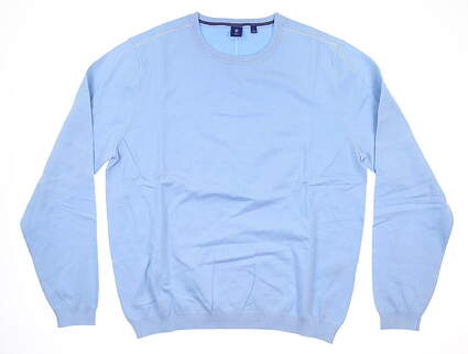 New Mens Footjoy 1857 Sweater Large L Blue MSRP $325