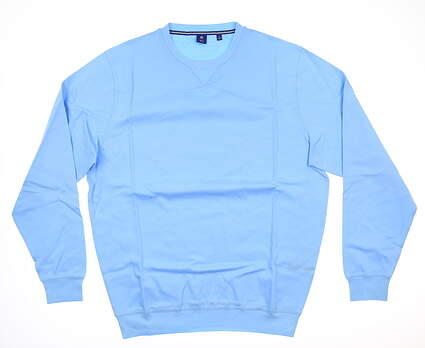 New Mens Footjoy 1857 Sweater Large L Blue MSRP $175