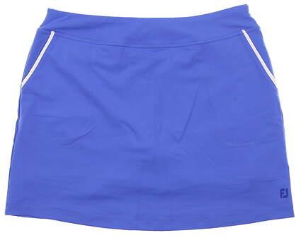 New Womens Footjoy Skort Large L Blue MSRP $85 23864
