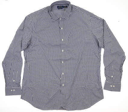 New Mens Ralph Lauren Button Up X-Large XL Multi MSRP $104
