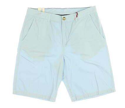 New Mens Johnnie-O Derby Shorts 34 Cloud Blue MSRP $85 JMSH1010