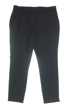 New Womens Peter Millar Pants 4 Black MSRP $104 LF16EB44