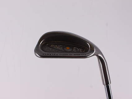 Ping Eye 2 Single Iron Pitching Wedge PW Steel Stiff Right Handed Yellow Dot 35.75in