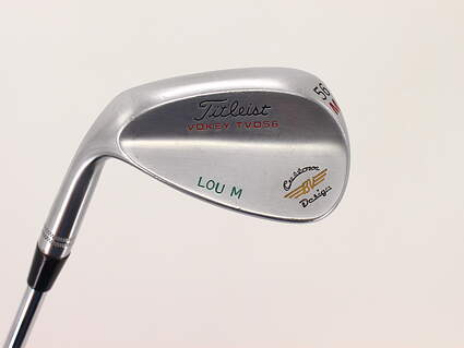 Titleist Vokey TVD Chrome Wedge Sand SW 56° M Grind Project X Flighted 5.5 Steel Stiff Left Handed 35.0in