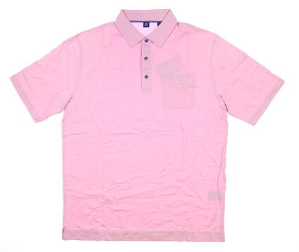New Mens Footjoy 1857 Polo Large L Pink MSRP $99 26658