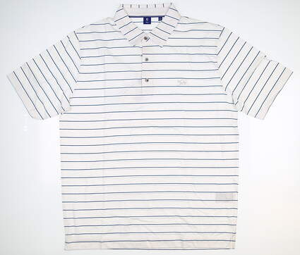 New W/ Logo Mens Footjoy 1857 Collection Golf Polo Large L White MSRP $155 25852