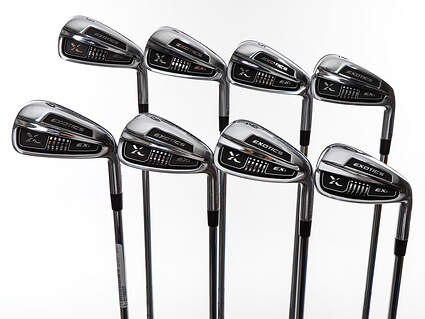 Mint Tour Edge Exotics EXi Iron Set 3-PW FST KBS Tour 90 Steel Regular Right Handed 38.5in