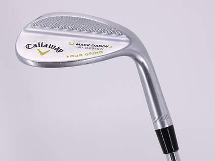 Callaway Mack Daddy 2 Tour Grind Chrome Wedge Sand SW 54° 11 Deg Bounce T Grind True Temper Dynamic Gold 105 Steel Wedge Flex Right Handed 35.25in