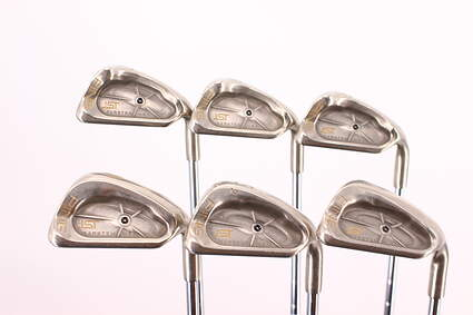 Ping ISI Nickel Iron Set 7-PW GW SW LW Stock Steel Shaft Steel Stiff Right Handed Black Dot 36.75in