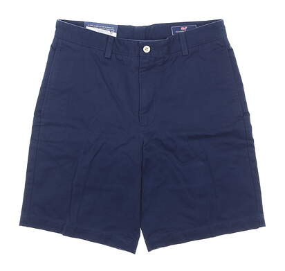 New Mens Vineyard Vines Classic Fit Club Shorts 30 Navy Blue MSRP $80