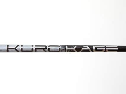 Used W/ Adapter Mitsubishi Rayon Kuro Kage Silver Dual Core Driver Shaft Stiff 44.25in