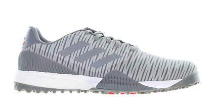 New Mens Golf Shoe Adidas Codechaos Sport Medium 9 Gray MSRP $130 EE9112