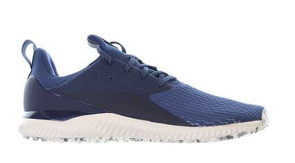 New Mens Golf Shoe Adidas Adicross Bounce 2.0 Medium 10.5 Blue MSRP $120 EF5618