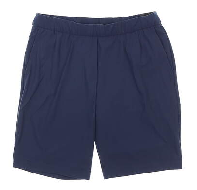 New Womens Nike Shorts Large L Navy Blue MSRP $60 BV0168