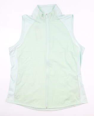 New Womens Adidas Vest X-Large XL Green MSRP $70 FI9492