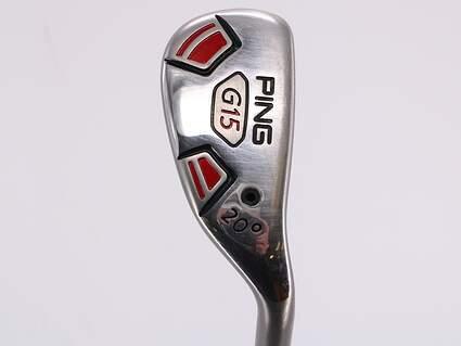 Ping G15 Hybrid 3 Hybrid 20° Ping TFC 149H Graphite Regular Right Handed 39.5in