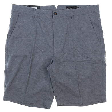 New Mens Dunning Heathered Golf Shorts 36 Halo MSRP $88 D7S17H601