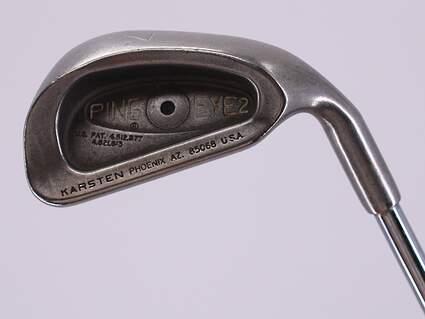 Ping Eye 2 Single Iron 7 Iron True Temper Dynalite Gold Steel Stiff Right Handed Black Dot 37.5in
