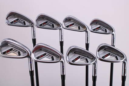 Ping I25 Iron Set 4-PW GW Ping TFC 189i Graphite Regular Right Handed Purple dot 37.5in
