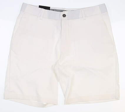 New Mens Under Armour Golf Shorts 36 White MSRP $75 UM8810