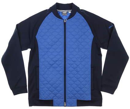 New Mens Puma PrimaLoft Stlth Jacket Medium M Navy Blazer/Star Sapphire MSRP $160 597586
