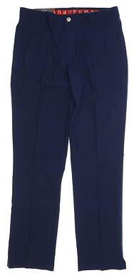New Mens Puma Proven Pants 32 x32 Navy Blue MSRP $80 578181